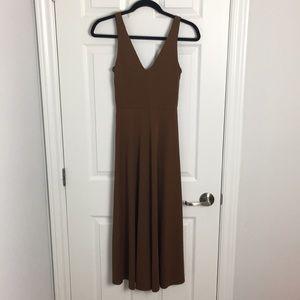 Long brown dress - Size XS